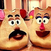 Одежда ручной работы. Ярмарка Мастеров - ручная работа Мистер и миссис картофельная голова. Handmade.