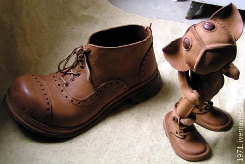 Figurines handmade. Livemaster - handmade. Buy because.Leather, stylish gift, art object, leather