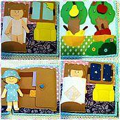 Куклы и игрушки ручной работы. Ярмарка Мастеров - ручная работа Развивающая книжка (фетр). Handmade.