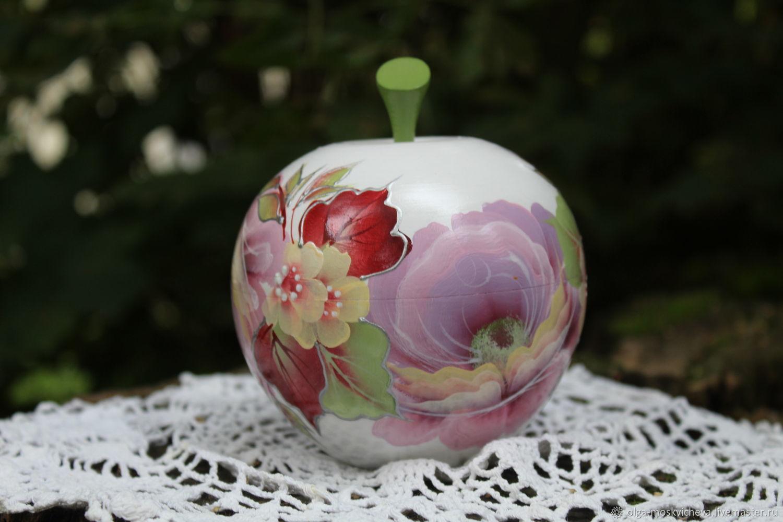 Яблочко нежное, Шкатулки, Смоленск,  Фото №1
