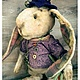 Мишки Тедди ручной работы. Ярмарка Мастеров - ручная работа. Купить Марвин, хранитель мечт.. Handmade. Сиреневый, друг, опилки