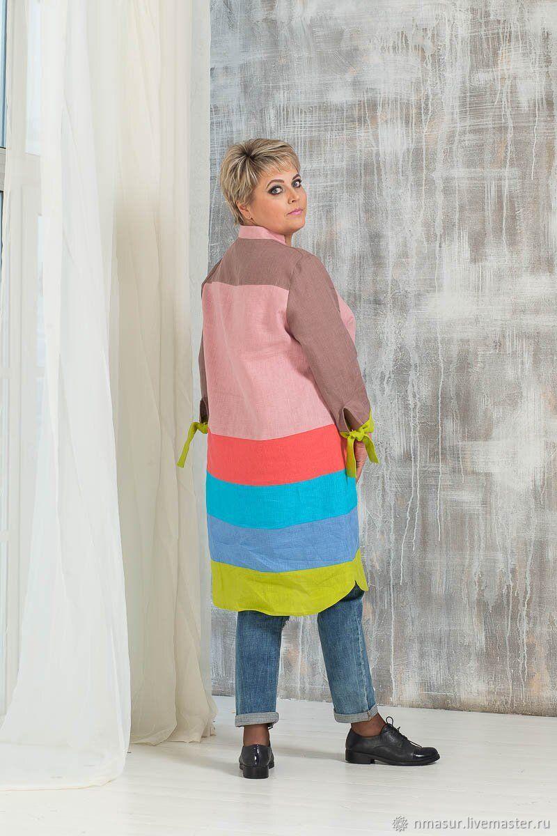 Linen shirt dress, Dresses, Novosibirsk,  Фото №1