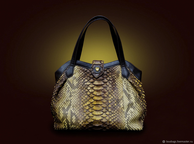 Women's casual Python Florence bag, Classic Bag, Nizhny Novgorod,  Фото №1