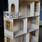 Куклы и игрушки handmade. Livemaster - original item dollhouse 3 floors. Handmade.
