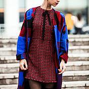 Платья ручной работы. Ярмарка Мастеров - ручная работа Платье женское из твида Шанель с бахромой. Handmade.