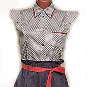 Одежда ручной работы. Ярмарка Мастеров - ручная работа Шорты  и блузка Спорт-шик. Handmade.