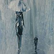 """Картины и панно ручной работы. Ярмарка Мастеров - ручная работа Триптих. """"Он. Она. Они."""". Handmade."""