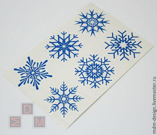 Наклейка `Снежинка` №12