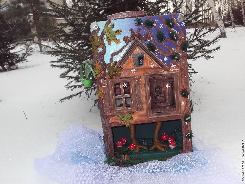 suitcase - the hut on chicken legs no. №2