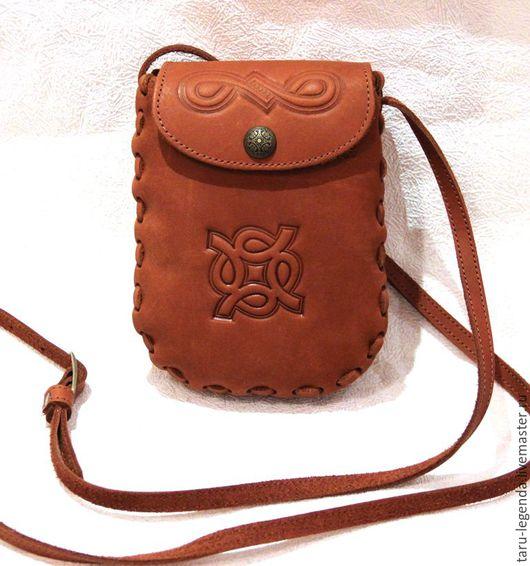 Женские сумки ручной работы. Ярмарка Мастеров - ручная работа. Купить Сумка для документов из натуральной кожи - рыжая. Handmade.