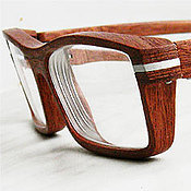 Аксессуары ручной работы. Ярмарка Мастеров - ручная работа Оправа для очков из дерева. Handmade.