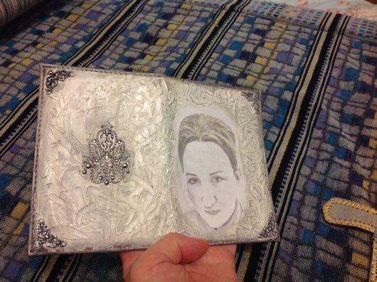 Обложки ручной работы. Ярмарка Мастеров - ручная работа. Купить Обложка на паспорт с вашим фото. Handmade. Комбинированный, подарок женщине