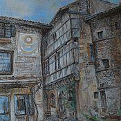 Картины и панно ручной работы. Ярмарка Мастеров - ручная работа Франция - городской пейзаж.. Handmade.