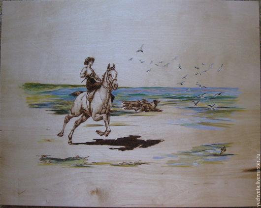 Стилизованная копия одного из мною любимых художников WILLIAM HOUNSOM BYLES - JOIE DE VIVRE