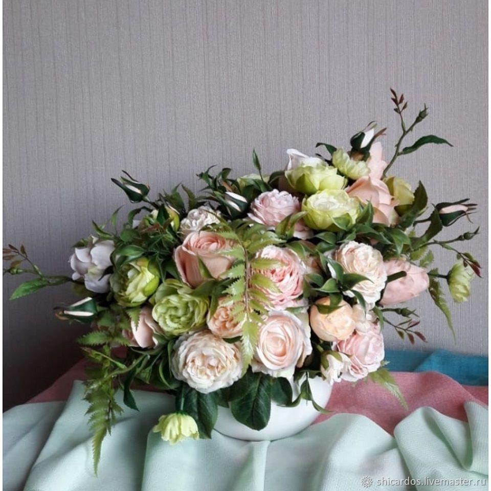 """Букет цветов в вазе """"Аксинья"""", Композиции, Волгоград, Фото №1"""
