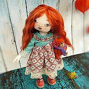 Куклы и пупсы ручной работы. Ярмарка Мастеров - ручная работа Куколка текстильная.Забронирована.. Handmade.