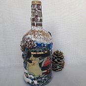Сувениры и подарки handmade. Livemaster - original item Bottle with backlight