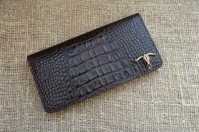 Men's leather wallet-longer, Wallets, Sizran,  Фото №1