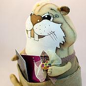 Куклы и игрушки ручной работы. Ярмарка Мастеров - ручная работа Интерьерная кукла Хома-девочка. Handmade.