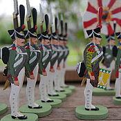 Куклы и игрушки handmade. Livemaster - original item Semenovsky life-Guards regiment. Handmade.
