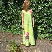 Одежда ручной работы. Ярмарка Мастеров - ручная работа Валяное платье Виола. Handmade.