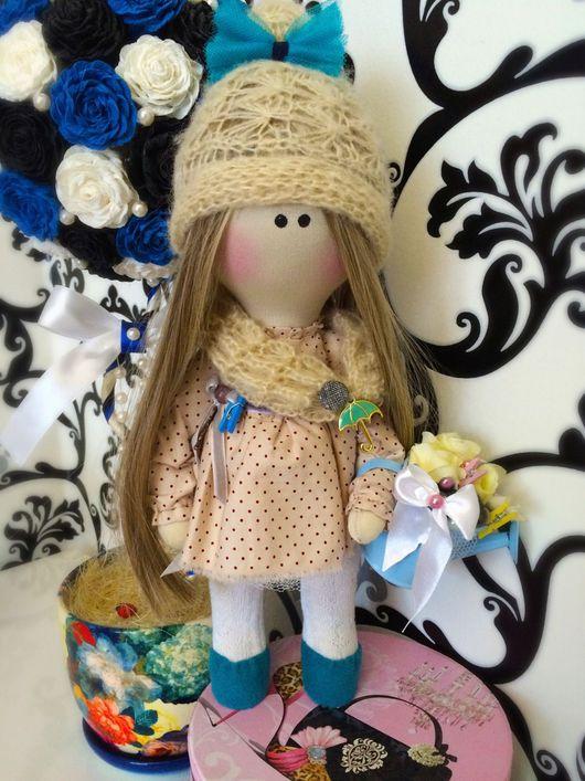Коллекционные куклы ручной работы. Ярмарка Мастеров - ручная работа. Купить Виктория. Handmade. Тильда, Снежка, коллекционная кукла, шерсть