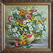 """Картины и панно ручной работы. Ярмарка Мастеров - ручная работа """" Осенний букет для Вас"""". Handmade."""