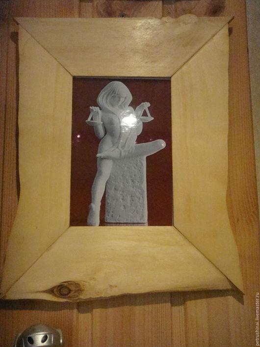 Подвески ручной работы. Ярмарка Мастеров - ручная работа. Купить Фоторамка оригинальная. Handmade. Рамка для фото, фоторамка деревянная, масло