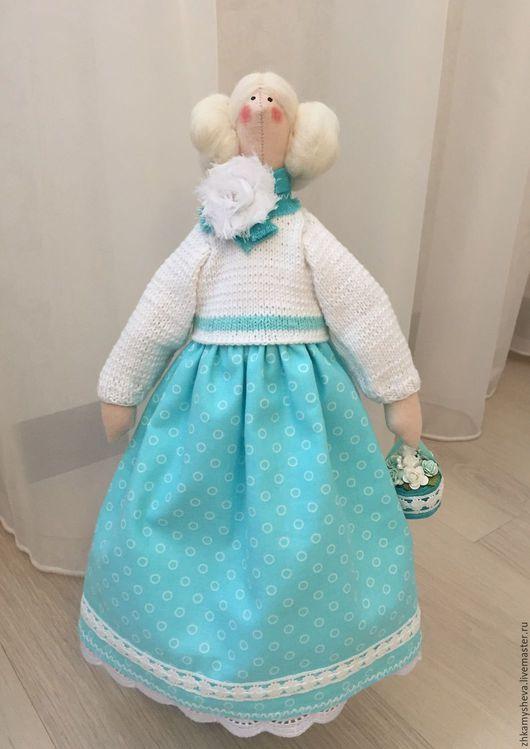 Айприл. Весенняя феечка. Кукла Тильда.
