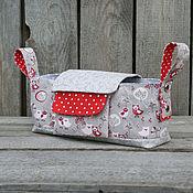 Работы для детей, handmade. Livemaster - original item Organizer for strollers with removable purse.. Handmade.