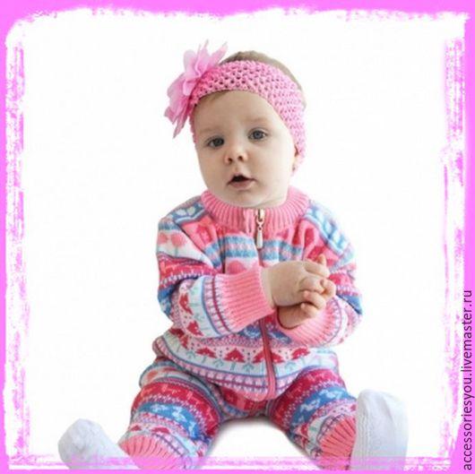 """Для новорожденных, ручной работы. Ярмарка Мастеров - ручная работа. Купить Комбенизон """"Ажурный"""". Handmade. Комбинированный, комплект на выписку, полушерсть"""