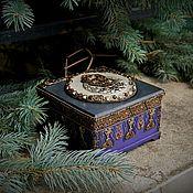 Для дома и интерьера ручной работы. Ярмарка Мастеров - ручная работа «В одну из пепельных ночей» шкатулка. Handmade.