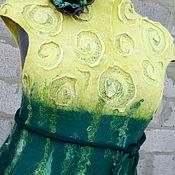 """Одежда ручной работы. Ярмарка Мастеров - ручная работа Платье """"Цветущий Цитрон"""". Handmade."""