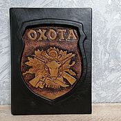 Сувениры и подарки handmade. Livemaster - original item Gift leather book