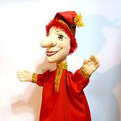 Куклы и игрушки ручной работы. Ярмарка Мастеров - ручная работа Петрушка кукла на руку.. Handmade.