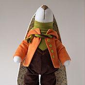 Куклы и игрушки ручной работы. Ярмарка Мастеров - ручная работа Зай Морковкин. Handmade.