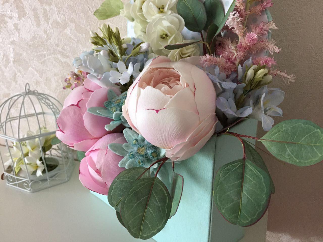 кухонную мебель цветы и композиции из фоамирана фото мк рыбки для аквариума