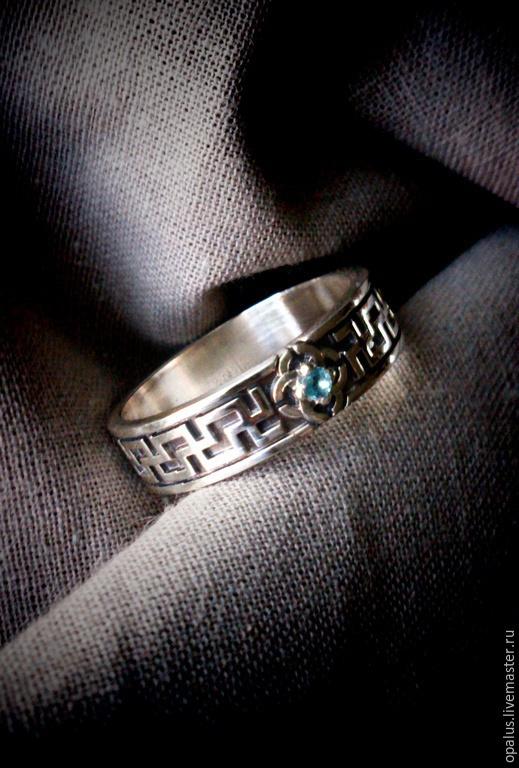 """Кольца ручной работы. Ярмарка Мастеров - ручная работа. Купить кольцо """"Свадебник"""". Handmade. Серебряное кольцо, славянские символы"""
