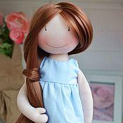 Куклы и игрушки ручной работы. Ярмарка Мастеров - ручная работа Кукла текстильная игровая. Дарина. Handmade.