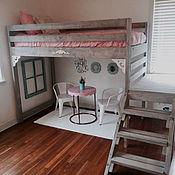 Для дома и интерьера ручной работы. Ярмарка Мастеров - ручная работа Компактная кроватка. Handmade.