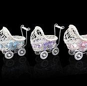 Кашпо Детская коляска