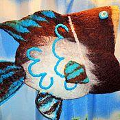 Аксессуары ручной работы. Ярмарка Мастеров - ручная работа Шапка - С лёгким паром- валяная для бани и сауны. Handmade.