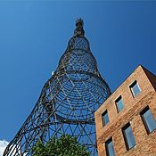 Башня Шухова на Шаболовке В Лофт Фотокартина