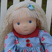 Куклы и игрушки ручной работы. Ярмарка Мастеров - ручная работа Леночка, вальдорфская кукла. Handmade.