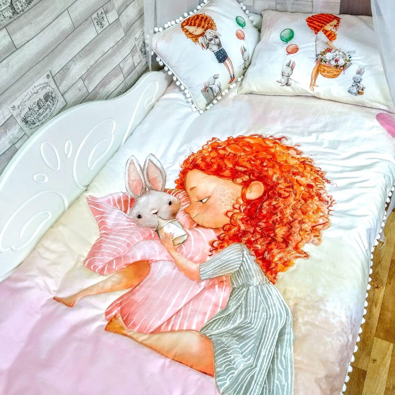 Set in the crib for a girl, Bedding sets, Orekhovo-Zuyevo,  Фото №1