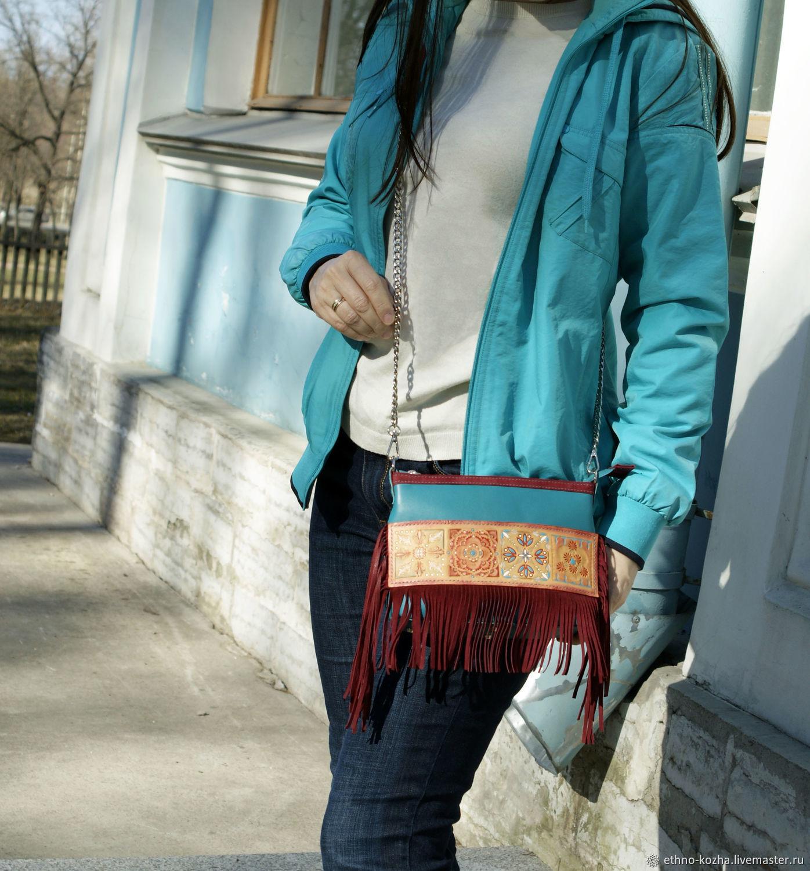 Author's leather Menara bag, Classic Bag, St. Petersburg,  Фото №1