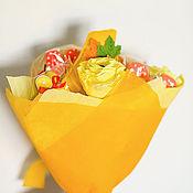 Сувениры и подарки ручной работы. Ярмарка Мастеров - ручная работа Букет на 1 сентября. Handmade.