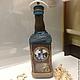 Подарочное оформление бутылок ручной работы. Заказать бутылка Прогулка на теплоходе. Юлия Балашова. Ярмарка Мастеров. Подарок мужчине