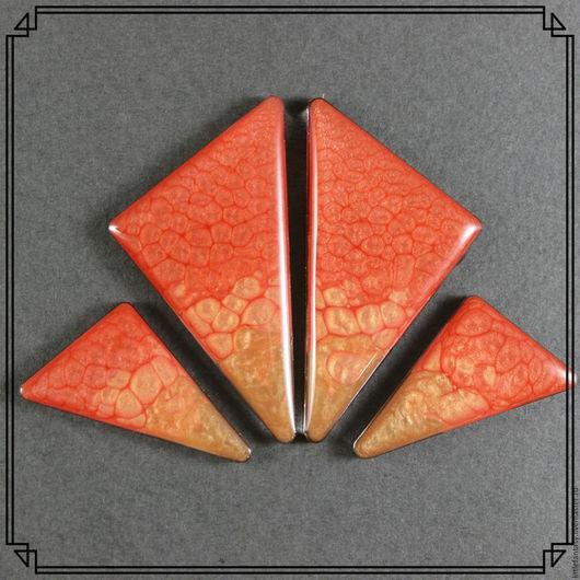 Для украшений ручной работы. Ярмарка Мастеров - ручная работа. Купить Лот 16  Комплект кабошонов ручной работы. Handmade.