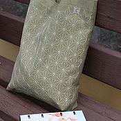Сумка-шоппер ручной работы. Ярмарка Мастеров - ручная работа Сумка с вышивкой Сашико. Handmade.